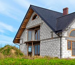 Двухэтажные дома из керамзитоблоков под ключ